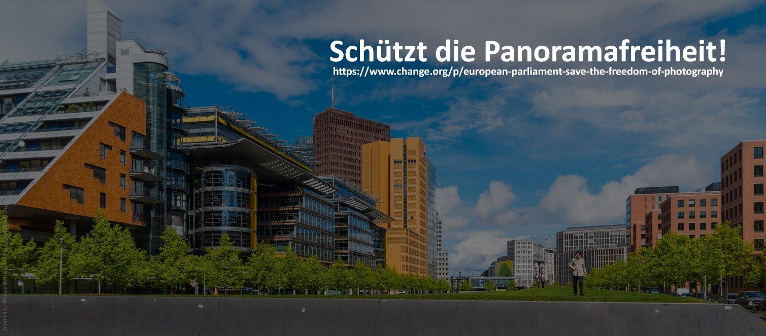 Panoramafreiheit in Gefahr!